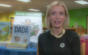 Book 'Em Gives Away Books in Macon Elementary School