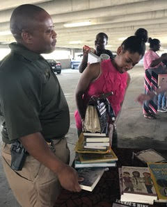 Books given away at The Mentor's Project of Bibb County's Annual Fall Festival