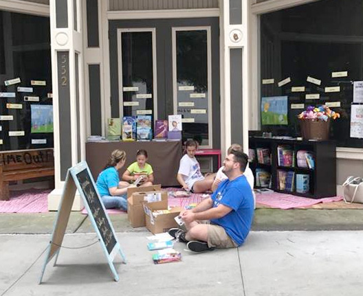 Macon Book 'Em at Downtown Alley Book Nook Summer Reading Kick-Off